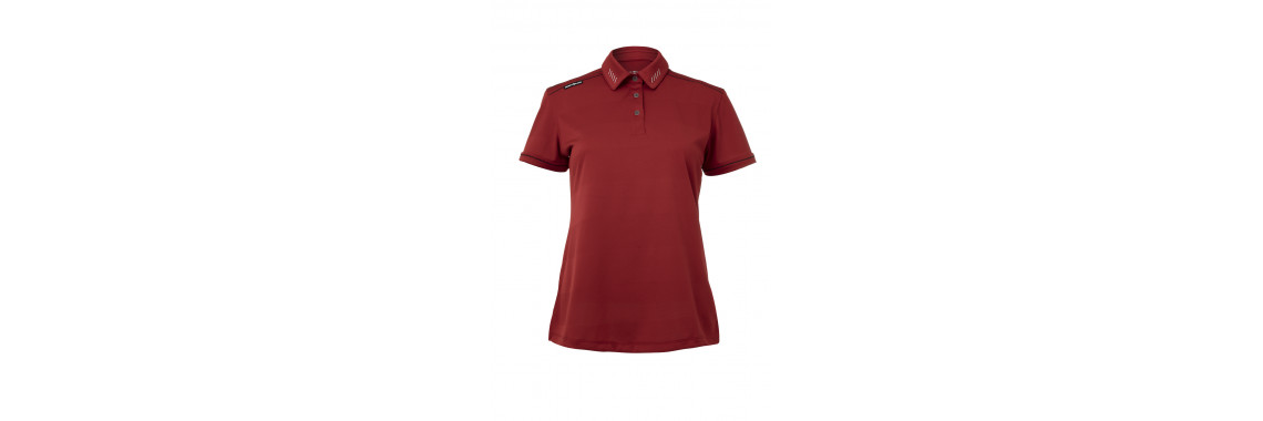 Crest Link x Deemples Women's Golf Shirt (with Personalisation)