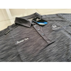 Crest Link x Deemples Men's Golf Shirt (with Personalisation)